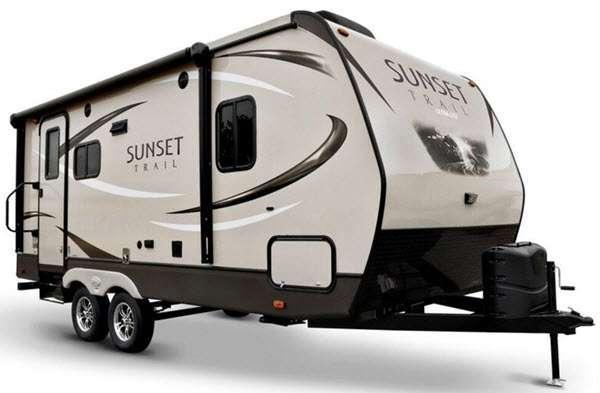 Sunset Trail Ultra Lite Stock Photo