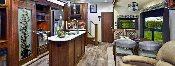Inside - 2017 Bay Hill 340RK Fifth Wheel