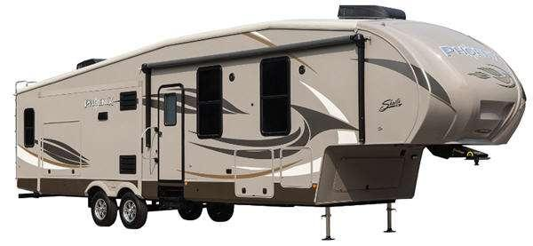 Outside - 2014 Phoenix 29RL Fifth Wheel