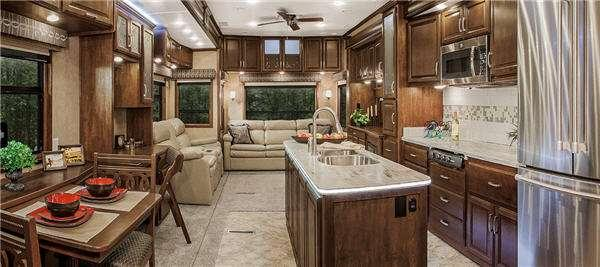 Inside - 2017 Mobile Suites 43 Manhattan Fifth Wheel