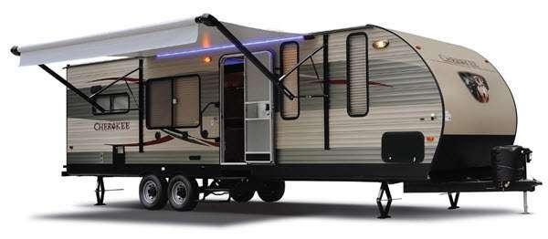 Outside - 2012 Cherokee 29U Travel Trailer