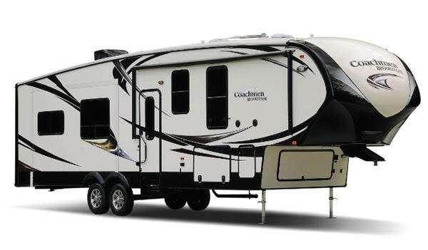 Outside - 2017 Brookstone 364DN Fifth Wheel