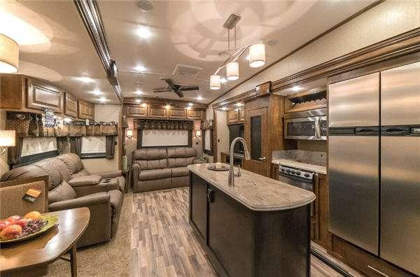 Inside - 2017 Brookstone 364DN Fifth Wheel