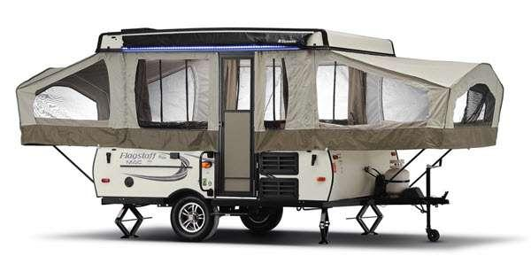 Outside - 2017 Flagstaff MACLTD Series 208 Folding Pop-Up Camper