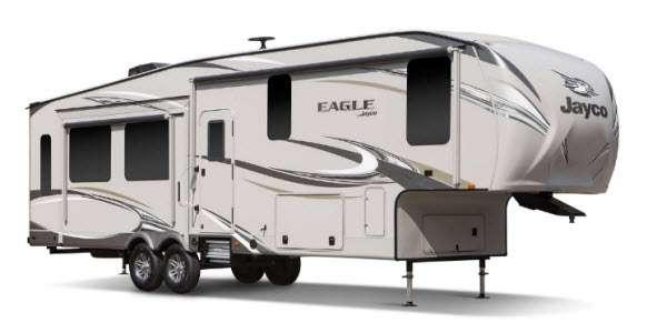 Outside - 2012 Eagle 321RLMS Fifth Wheel