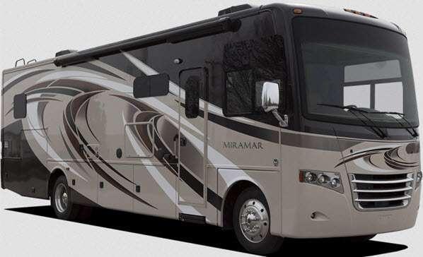 Outside - 2014 Miramar 34 3 Bunkhouse Motor Home Class A