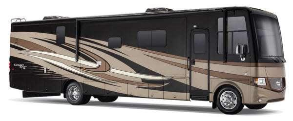 Outside - 2014 Canyon Star 3630 Motor Home Class A