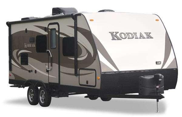 Outside - 2013 Kodiak 221RBSL Travel Trailer