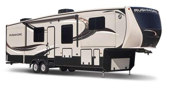 Outside - 2013 Rushmore RF38FL Fifth Wheel