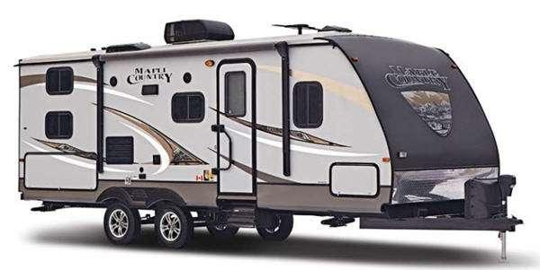 Outside - 2016 Maple Country MC240BH Travel Trailer