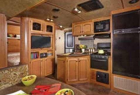 Inside - 2016 Maple Country MC240BH Travel Trailer