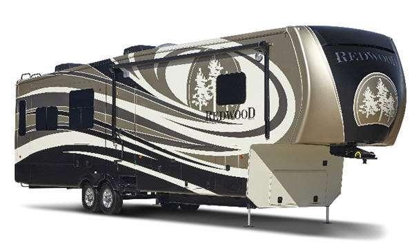Outside - 2016 Redwood 39MB Fifth Wheel