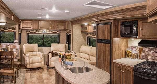 Inside - 2014 Sportsmen S280RL Travel Trailer