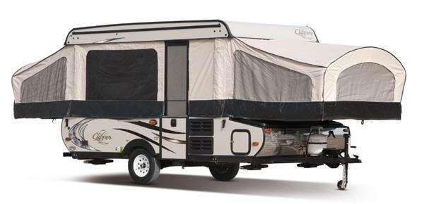 Outside - 2016 Clipper Camping Trailers V3 V-Trec Folding Pop-Up Camper