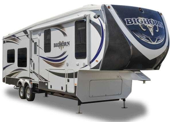 Outside - 2012 Bighorn 3410RE Fifth Wheel