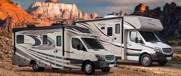 Outside - 2016 Prism 24G Motor Home Class C - Diesel