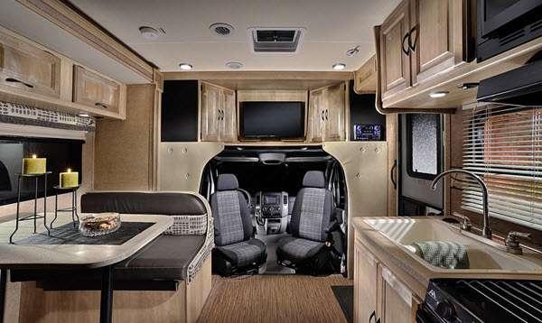 Inside - 2016 Prism 24G Motor Home Class C - Diesel