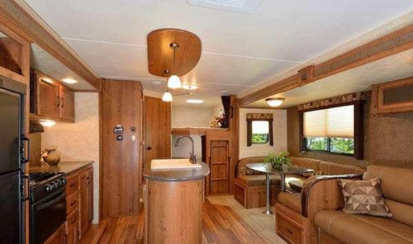 Inside - 2013 Innsbruck 24RKL Lite Travel Trailer