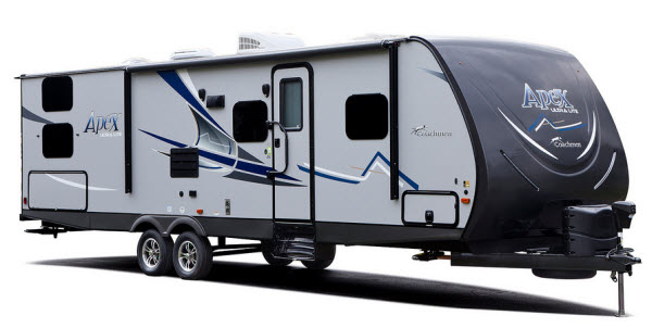 coachmen rv apex ultralite travel trailer