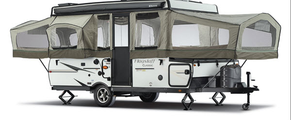 Flagstaff Classic Folding Pop-Up Camper | RV Sales | 4 Floorplans
