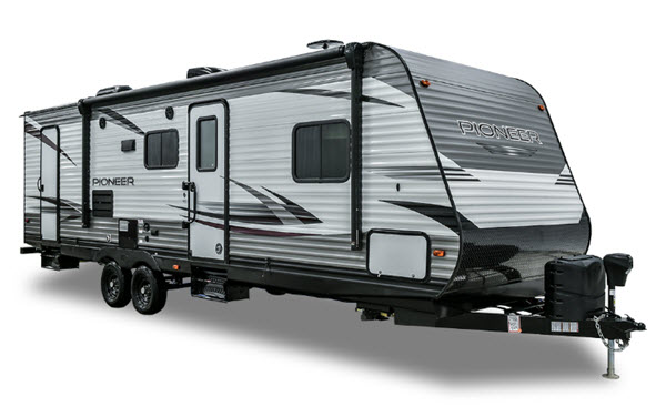 New Pioneer Travel >> New Heartland Pioneer Ds 320 Travel Trailer For Sale