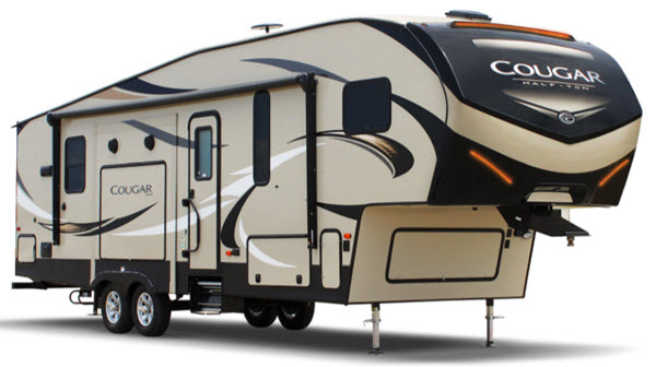Half Ton Towable Fifth Wheels >> Cougar Half Ton Series Fifth Wheel
