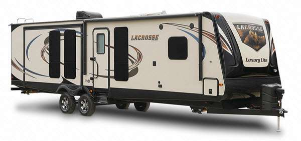 exterior of lacrosse rv