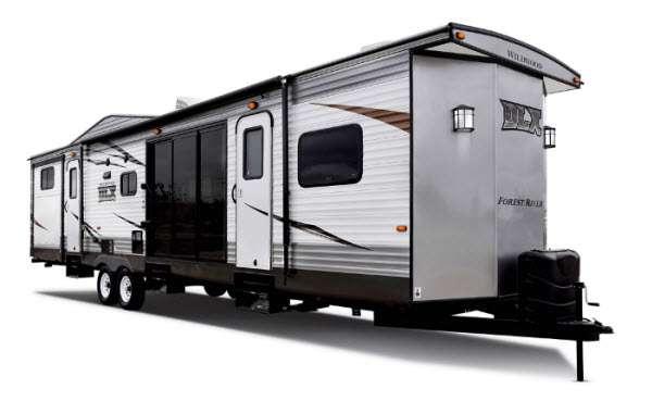 Forest River RV Wildwood DLX Destination Trailer
