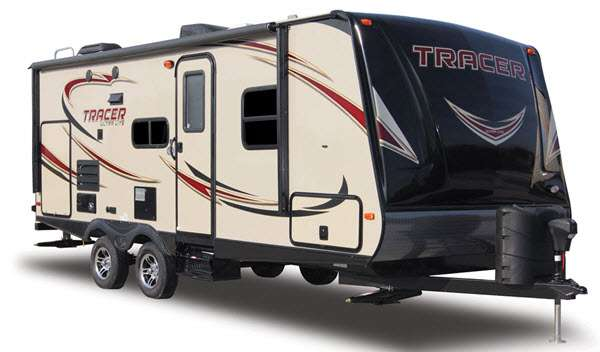 Prime Time Tracer Travel Trailer Logo