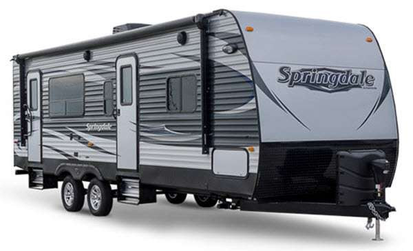 outside of springdale rv