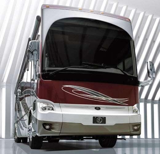 luxury diesel motorhome