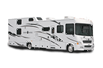 Motor Home Class A - Diesel - Toy Hauler