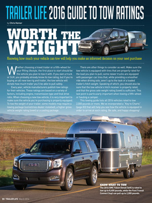 Tow Guides Rv Tow Ratings