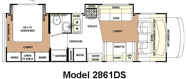 Used 2007 Forest River RV Forester 2861DS Motor Home Class C at McGeorge s RV
