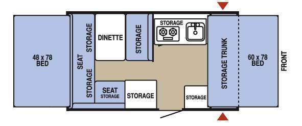 Floorplan - 2009 Starcraft  2102