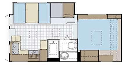 Floorplan - 2009 Lance 1181