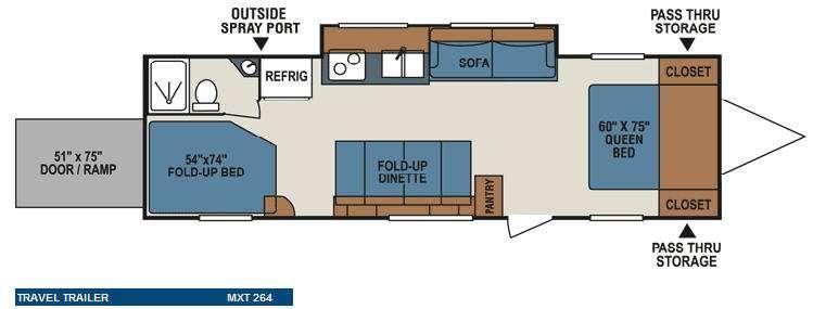 MXT MXT264 Floorplan