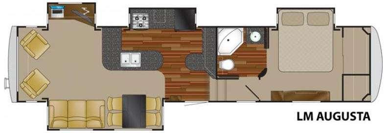 Floorplan - 2011 Heartland Landmark Augusta