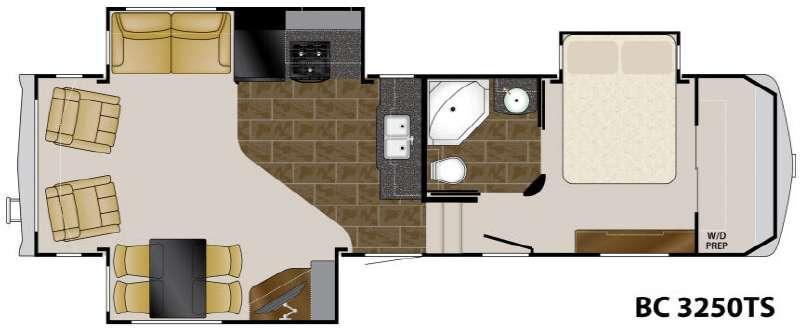 Floorplan - 2011 Heartland Big Country 3250 TS