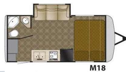 Floorplan - 2011 Heartland Edge M18