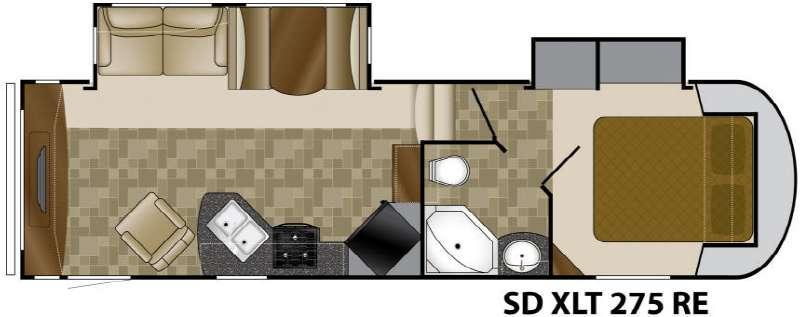 Floorplan - 2011 Heartland Sundance XLT 275RE