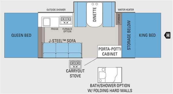 Jay Series 1206 Floorplan