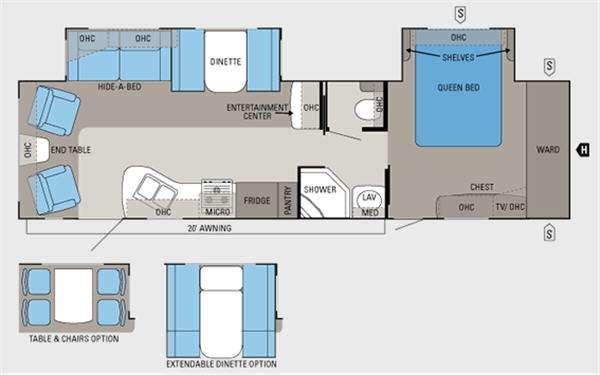 Floorplan - 2011 Jayco Eagle 320RLDS