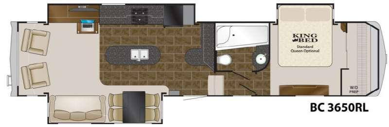 Floorplan - 2012 Heartland Big Country 3650 RL