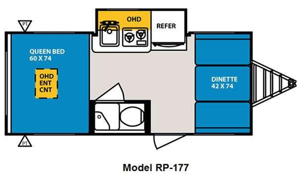 Used 2012 Forest River RV R Pod RP-177 Photo