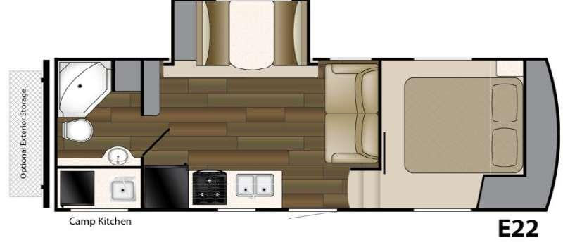 Floorplan - 2013 Heartland ElkRidge Express 22