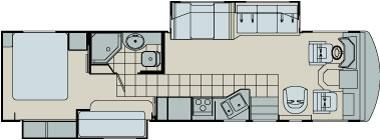 Floorplan - 2006 Damon Daybreak 3276