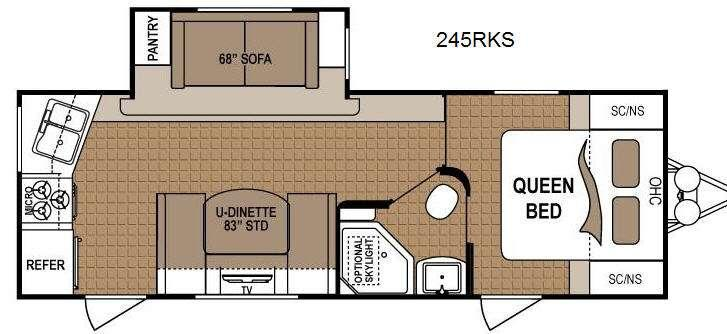 Floorplan - 2013 Dutchmen RV Dutchmen 245RKS