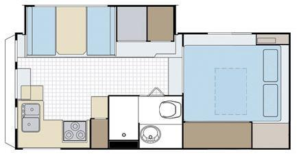 Floorplan - 2006 Lance Max 1181