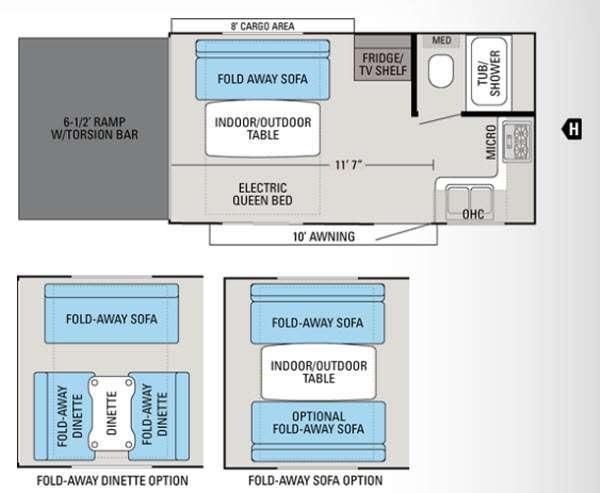Floorplan - 2014 Jayco Octane ZX Super Lite 161